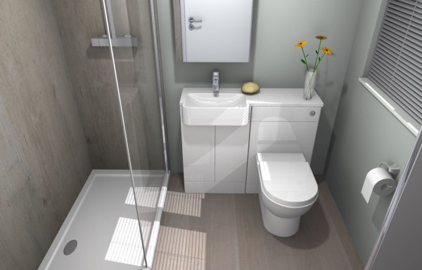 Bathroom CAD designs