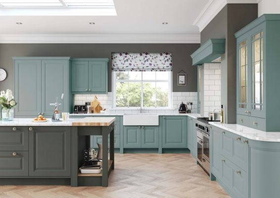Charnwood Painted Light Teal