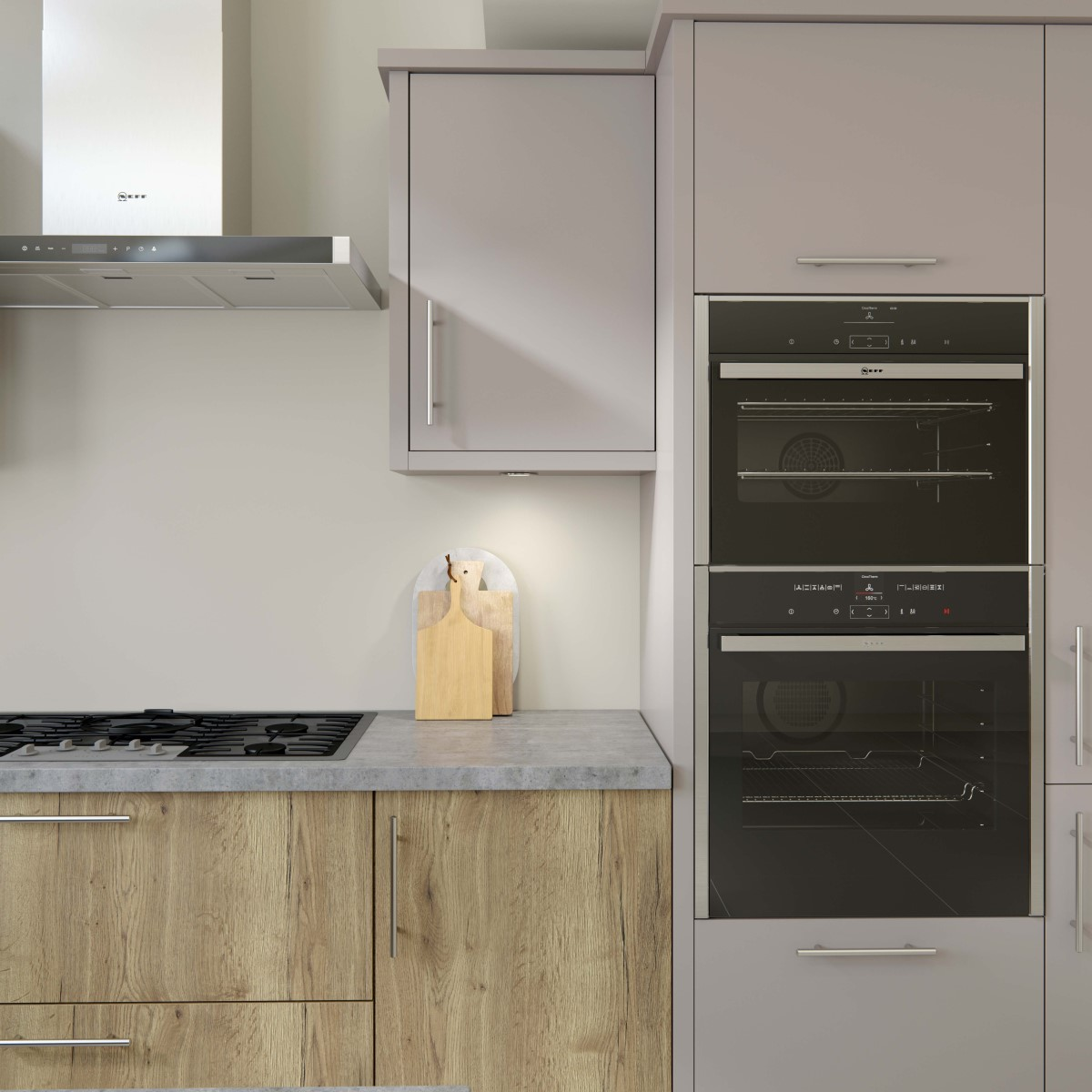Origin Linden Woodgrain Kitchen Quantum Ck Kitchens