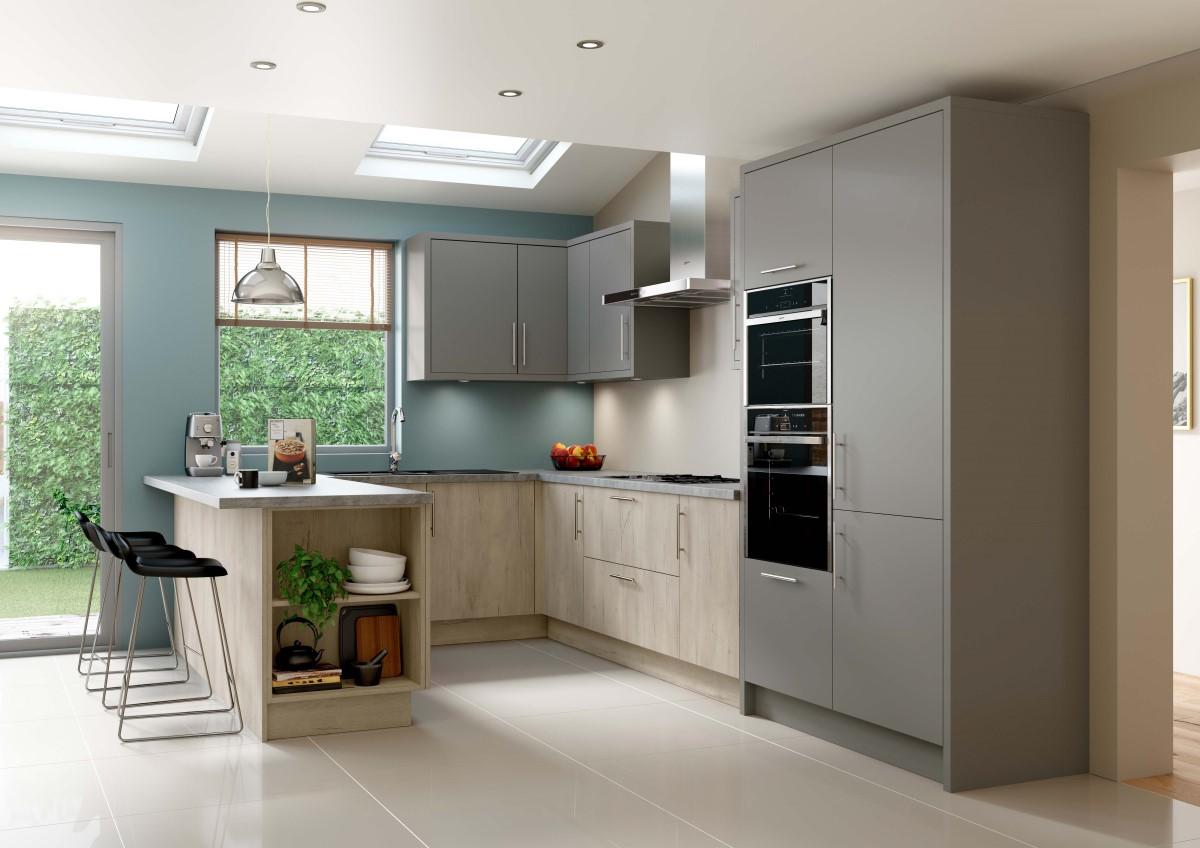 Origin Linden Woodgrain Kitchen Quantum Ck Kitchens